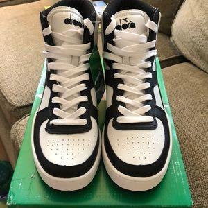 Mi Basket Size 10 Mens Sneakers